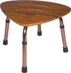 Teak Shower Chair Stool 12350KDR by Drive