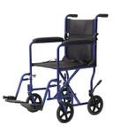 Lightweight Aluminum Transport Wheelchair 9201 by Cardinal Health