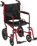 "Drive Lightweight Expedition Transport Chair, 12"" Rear Wheels"