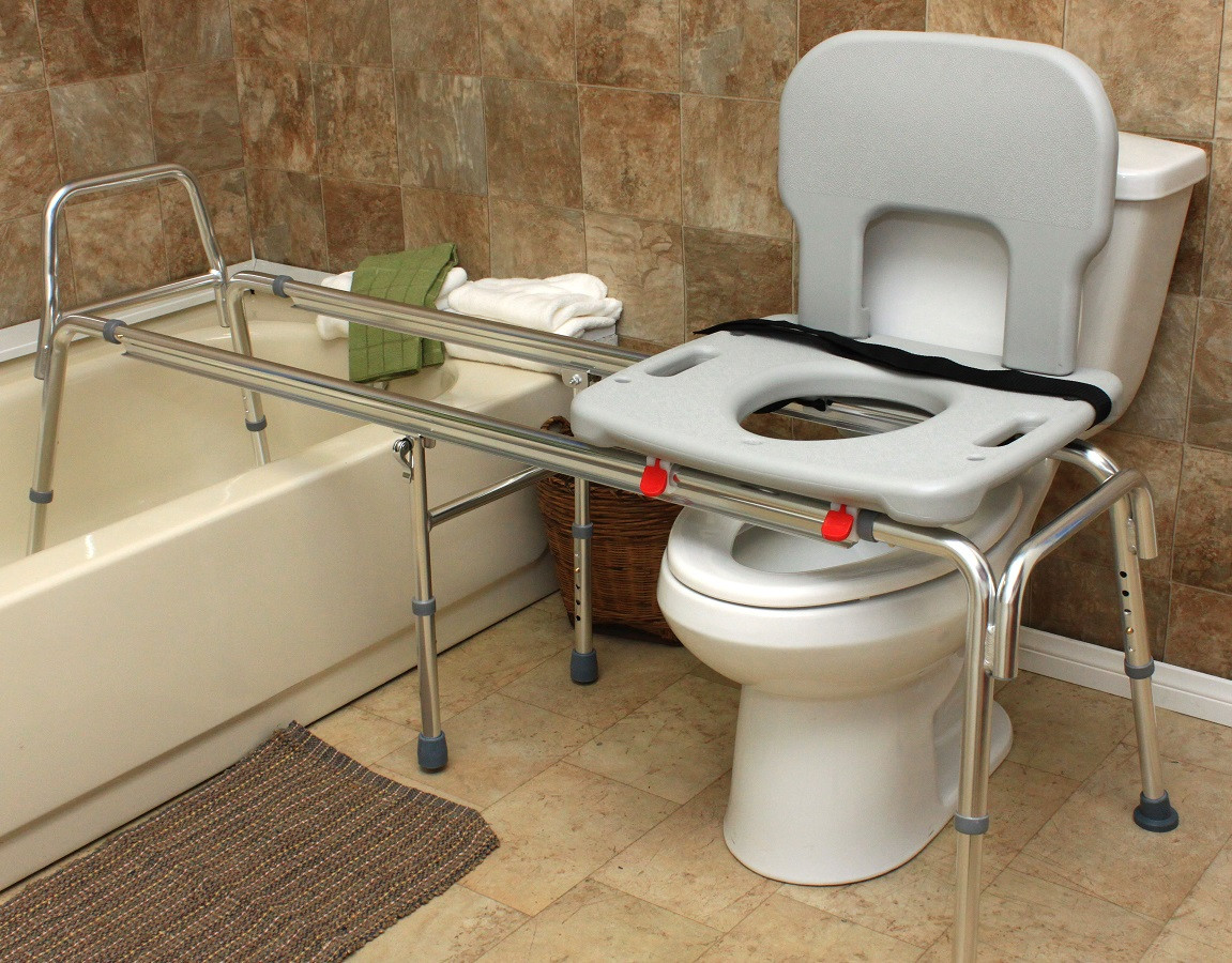 Eagle Health Tub to Toilet Sliding Transfer Bench 77963 77983 77993