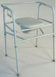 "TFI Extra Tall 24"" Wide Commode w/ Elongated Seat 3244"