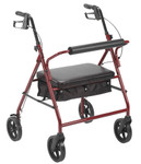 "Bariatric Heavy Duty Rollator w/ 8"" Wheels 10216 by Drive"