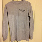 Charlie Mike Solutions long sleeve gray T-shirt