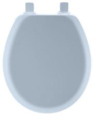 Blu Rnd Wd Toilet Seat