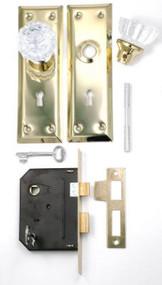 Knob/mortise Lock Combo