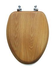 Oak Elong Toilet Seat