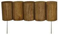 5x16 Log Edging