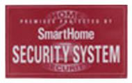 5pk Security Decal