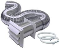 4x8 Alu Dryer Vent Kit