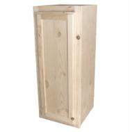 12x30 Pine Wall Cabinet