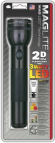 Blk 2d Led Flashlight