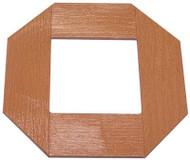 4x8 Cedar Brn Lattice