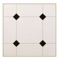 30pc Blk/wht Floor Tile