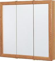 """30"""" Oak Tri Med Cabinet"""