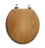 Oak Rnd Toilet Seat