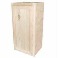 15x30 Pine Wall Cabinet