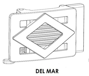 Del Mar Buckle Only