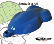 Aruba Blue Ocean 415 Color Hydrographics Paint Color Big Brain Graphics Buy