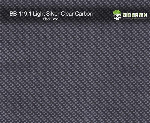 Light Silver Carbon Fiber Hydrographics Film Pattern Big Brain Graphics Buy Black Base