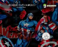 Avengers Captain America Marvel Comics Book Movies Movie Hydrographics Dip Film Pattern Big Graphics Trusted Seller Usa Based Nanochem Yeti White Base Quarter Reference 2