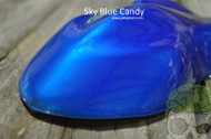 Sky Blue Candy Color