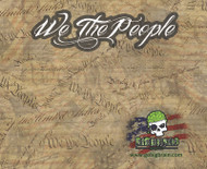 We The People Constitution Hydrographics Pattern Big Brain Graphics