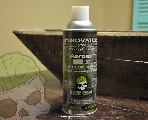 Hydrovator Aerosol Hydrographics Activator Spray Can Big Brain Graphics Hydrographics Trusted USA Seller