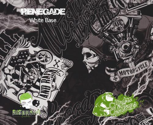 Renegade Hydrographics Pattern Film Buy Dipping Big Brain Graphics Seller White Base