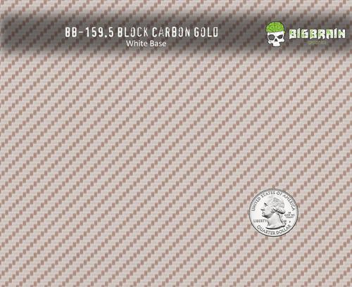 Block Carbon Gold Hydrographics Pattern Film Buy Dipping Big Brain Graphics Seller White Base Quarter