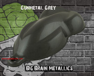 Gunmetal Grey Metallic Paint Automotive Hydrographics Big Brain Graphics