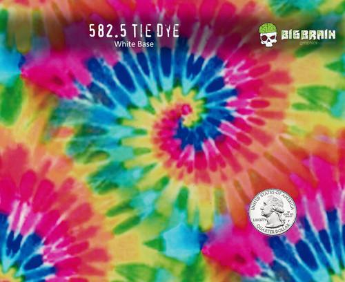 Hippie Hippy Tie Dye Colorful Pattern Hydrographics Big