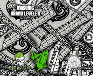 Mason Masonic Grand Leveller Leveler Hydrographics Film Secret Society Big Brain Graphics Big Dawg Graphics Rabid Film Seller USA Based White Base Quarter Reference