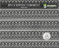 Southwestern Aztec Southwest Blanket Hydrographics Pattern Film Buy USA Seller Big Brain Graphics White Base Quarter Reference