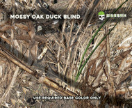 Mossy Oak Duck Blind Camo Camoflauge Hunting Blind Hydrographics Film Dip Pattern Big Brain Graphics Authorized Seller
