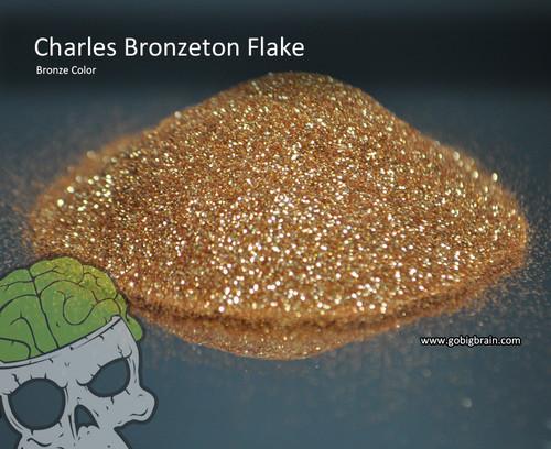Charles Bronzeton Bronze Candy Paint Flakes Flake Big Brain Graphics Hydrographics Spray Gold