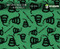 Don't Tread on Me Gadsden Flag Snakes America American Pride Hydrographics Film Pattern Big Brain Graphics Trusted USA Seller Supplier Light Green Base