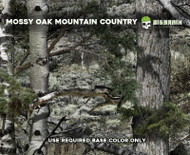 Mossy Oak Mountain Country Camo Camoflauge Hunting Camo Hydrographics Film Dip Pattern Big Brain Graphics Authorized Seller