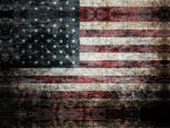 Grunge 12x16 Flag US USA Pride Hydrographics Custom Film Printed Hydrographic Film Big Brain Graphics