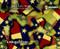 Texas Pride LoneStar State Flag Colorful Prideful Hydrographics Pattern Big Brain Graphics Mudjugs Design Just Bananas Yellow Base