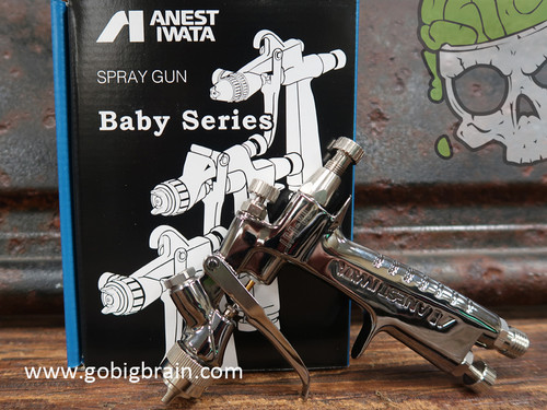 LPH80 Mini Gun Spray Gun Paint Touch Up Iwata Anest Iwata Dealer Big Brain Graphics Paint Coatings Hydrographics With Box Standing PPS System No Cup