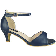 Wendy Blue Peep Toe Party Sandal