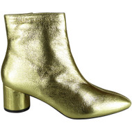 Carroll Gold Chelsea Pointy Shoes
