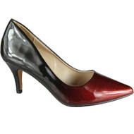 Lindy Red Pointy Party Shoes