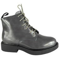 Connee Grey Ankle Creepers Grip Shoes