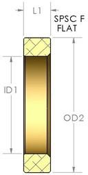 FLAT SPRING SPACING COLLAR - SPSC F566918