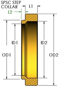 SPRING STEP SIZING COLLAR - SPSC 56555612