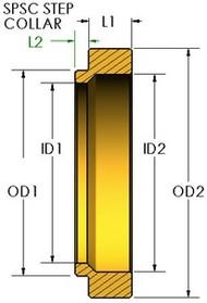 SPRING STEP SIZING COLLAR - SPSC 6051603630
