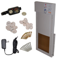 Power Pet Automatic Motorized Pet Door Medium
