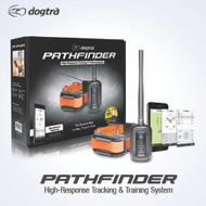 Pathfinder Dog GPS Track & Train e-Collar System Smartphone Based