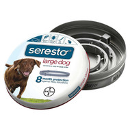 Seresto 8 Month Flea & Tick Collar for Large Dogs (over 18 pounds)